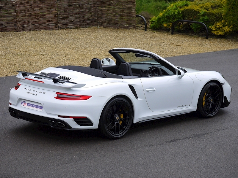 Porsche 911 (991.2) Turbo S 3.8 Convertible PDK - Aerokit - Large 20