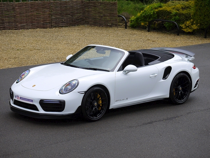 Porsche 911 (991.2) Turbo S 3.8 Convertible PDK - Aerokit - Large 24