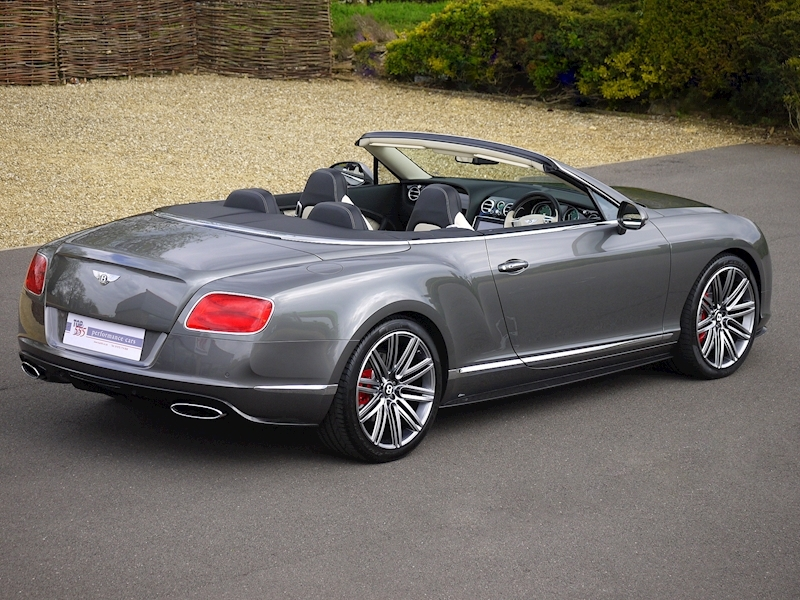 Bentley Continental GTC Speed 6.0 W12 - Large 21