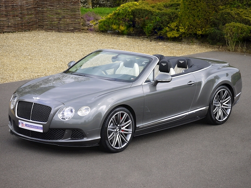 Bentley Continental GTC Speed 6.0 W12 - Large 22