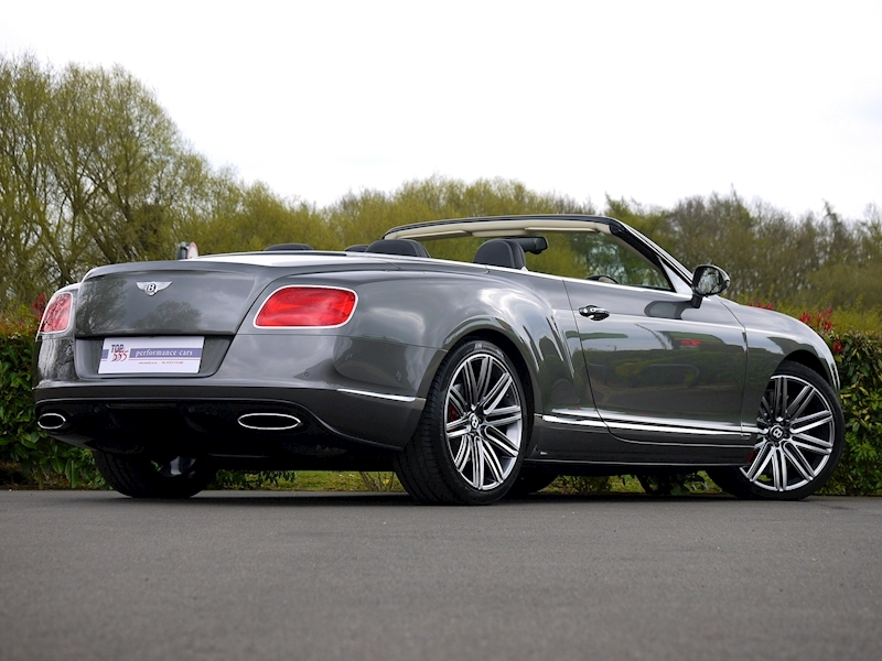 Bentley Continental GTC Speed 6.0 W12 - Large 29