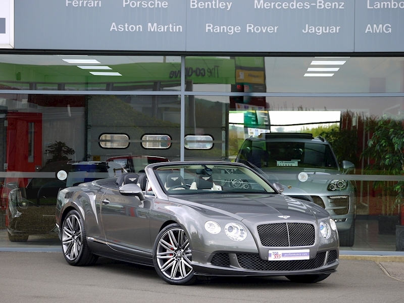 Bentley Continental GTC Speed 6.0 W12 - Large 40