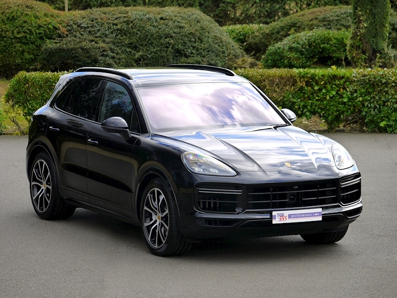 Porsche Cayenne Turbo V8 - New Model - Large 0