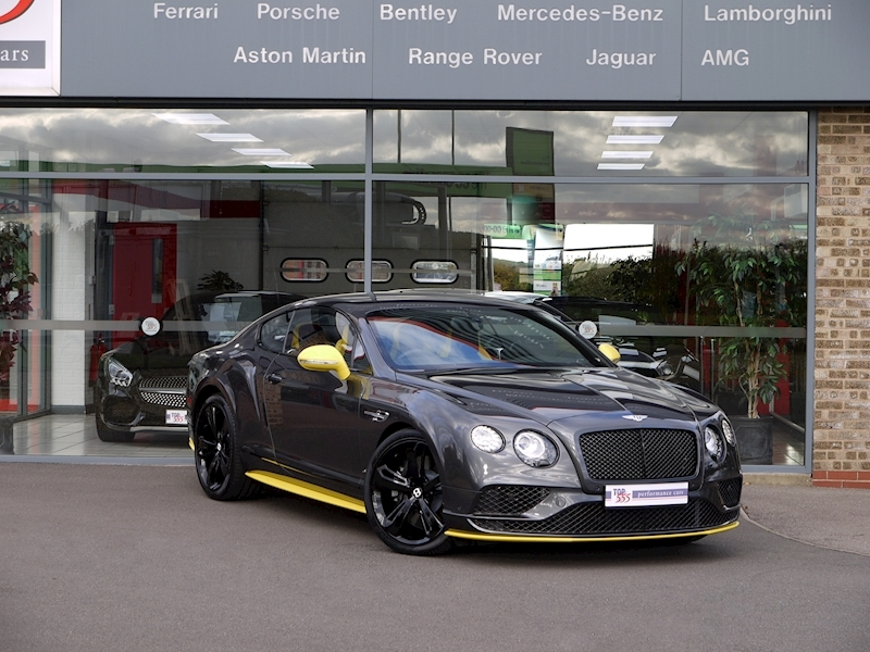 Bentley Continental GT 6.0 Speed - Black Edition - Large 38