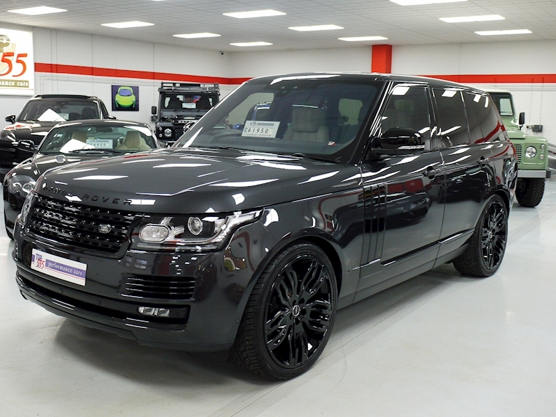 Land Rover Range Rover 4.4 SDV8 Autobiography Black Pack - Large 10