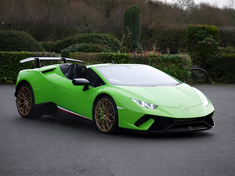 Lamborghini Huracan LP 640-4 Performante Spyder - Large 35