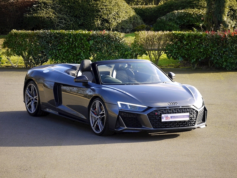 Audi R8 V10 Spyder Performance Carbon Black Edition - Large 1