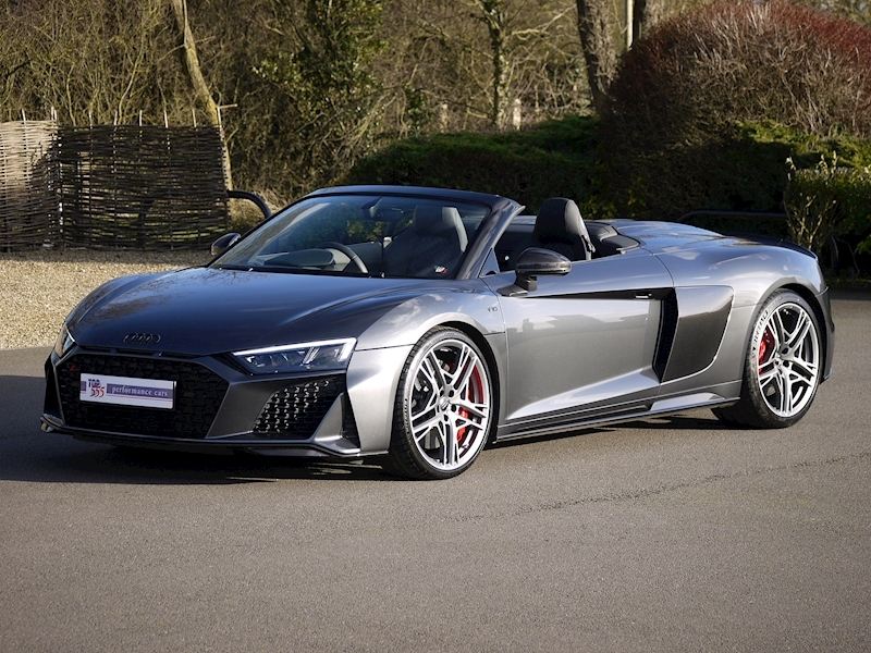 Audi R8 V10 Spyder Performance Carbon Black Edition - Large 25
