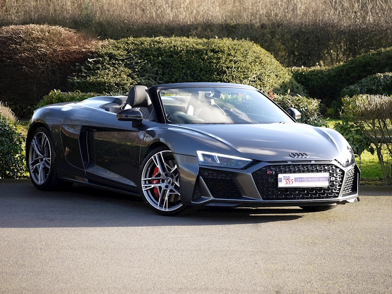 Audi R8 V10 Spyder Performance Carbon Black Edition - Large 29