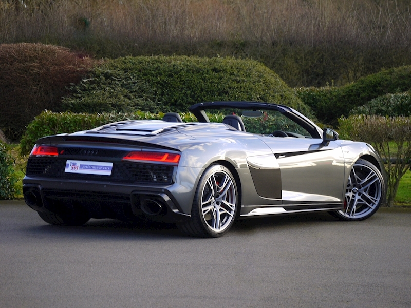 Audi R8 V10 Spyder Performance Carbon Black Edition - Large 33