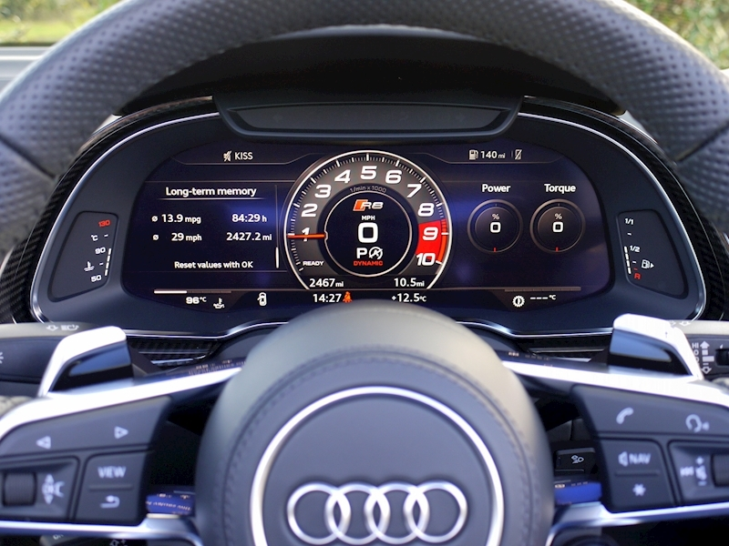 Audi R8 V10 Spyder Performance Carbon Black Edition - Large 36