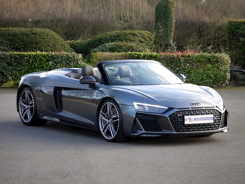 Audi R8 V10 Spyder Performance Carbon Black Edition - Large 40