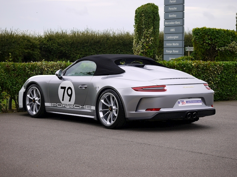 Porsche 911 4.0 Speedster - Heritage Design Pack - No 683 /1948 - Large 52