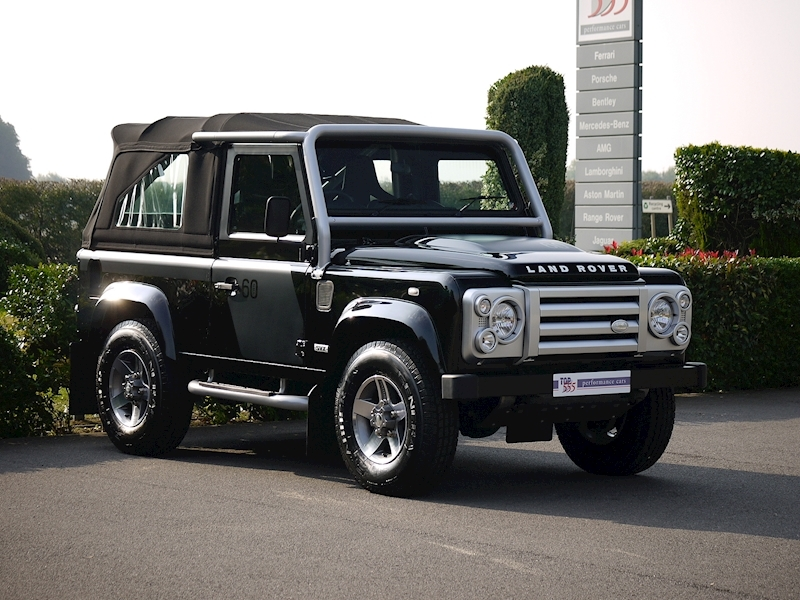 Land Rover Defender 90 SVX Soft Top - 60th Anniversary Edition - Large 30
