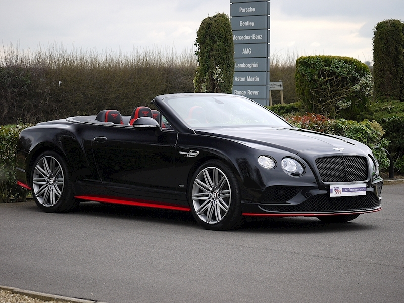 Bentley Continental GTC 4.0 V8 S 'Black Edition' - Large 18