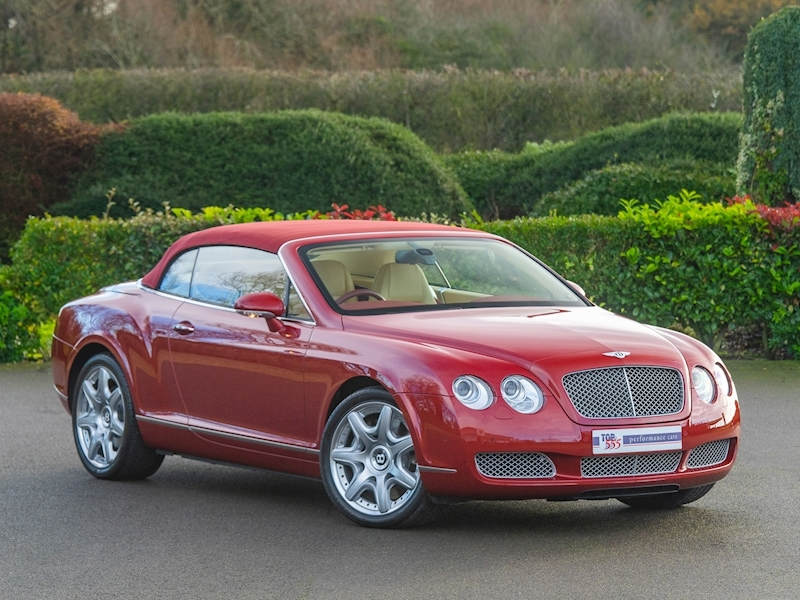 Bentley Continental GTC Mulliner 6.0 W12 - Large 1