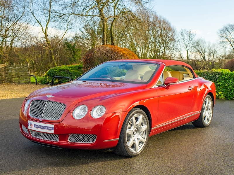 Bentley Continental GTC Mulliner 6.0 W12 - Large 21