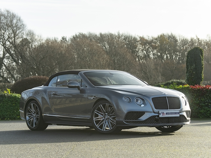 Bentley Continental GTC Speed W12 - 2016 MY - Large 7
