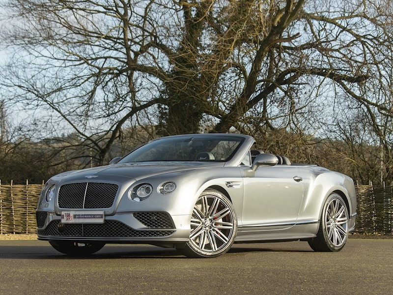Bentley Continental GTC Speed W12 - 2016 MY - Large 1