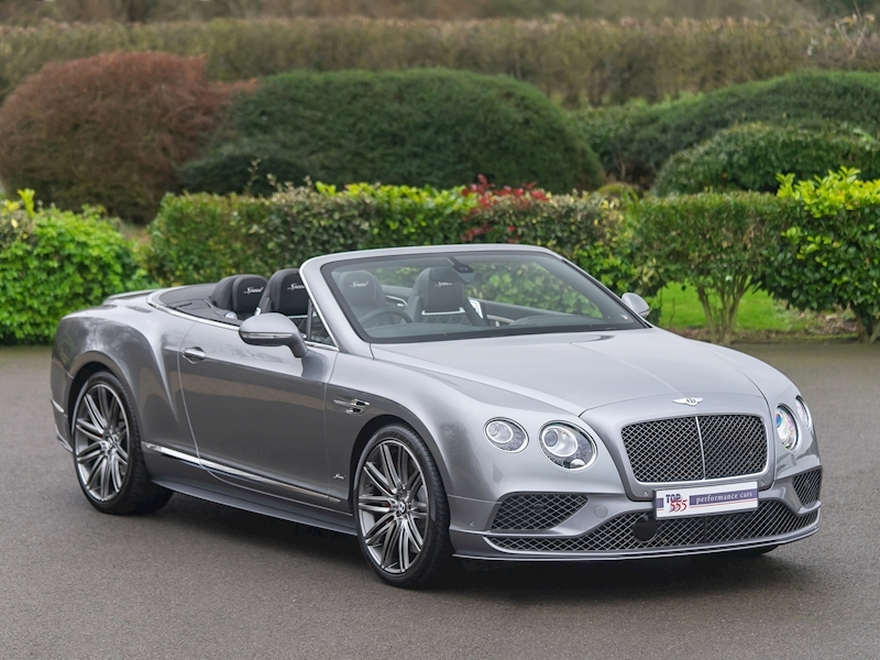 Bentley Continental GTC Speed W12 - 2016 MY - Large 45