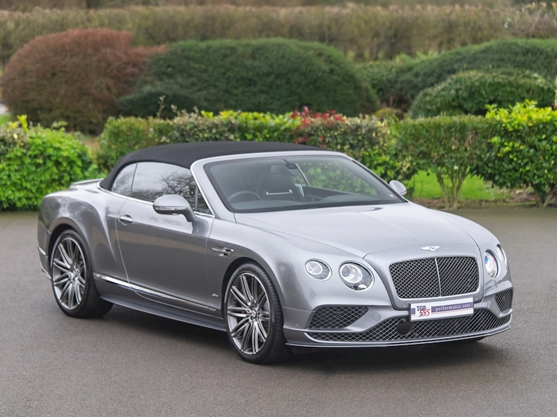 Bentley Continental GTC Speed W12 - 2016 MY - Large 44