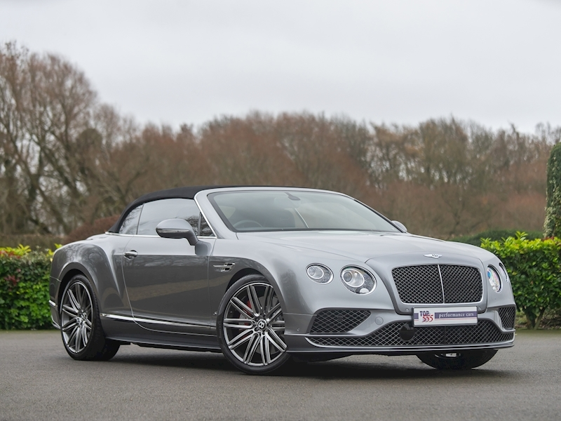 Bentley Continental GTC Speed W12 - 2016 MY - Large 3