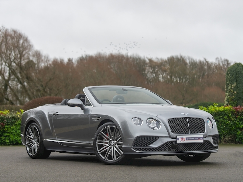 Bentley Continental GTC Speed W12 - 2016 MY - Large 2