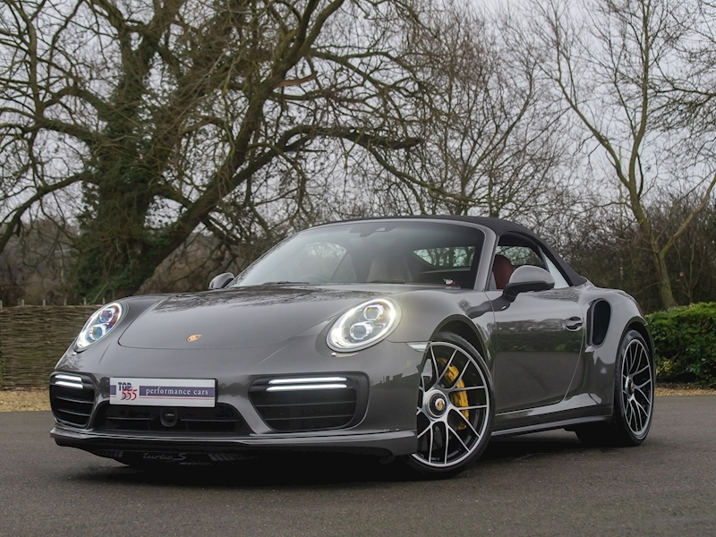 Porsche 911 (991.2) Turbo S Convertible 3.8 PDK - Large 14