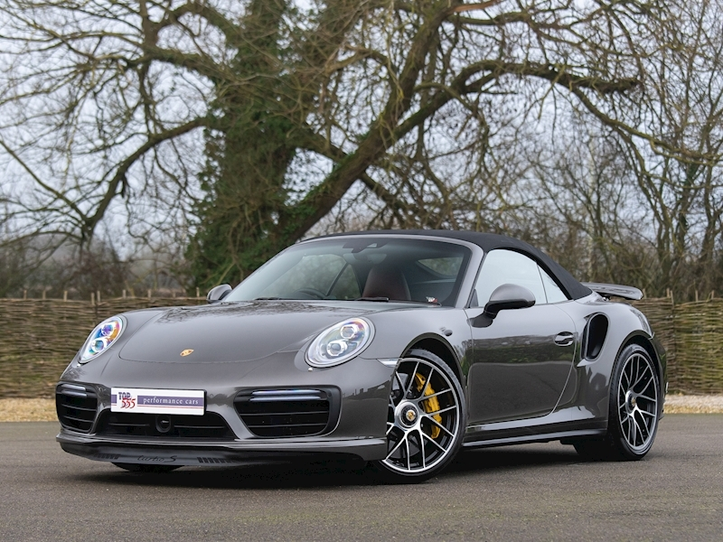 Porsche 911 (991.2) Turbo S Convertible 3.8 PDK - Large 2