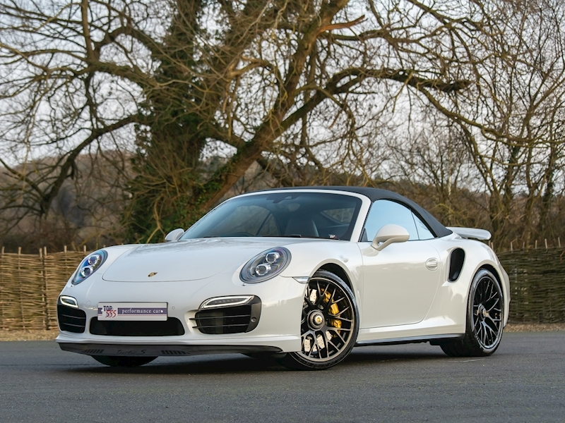 Porsche 911 (991.1) Turbo S 3.8 Convertible PDK - Large 2