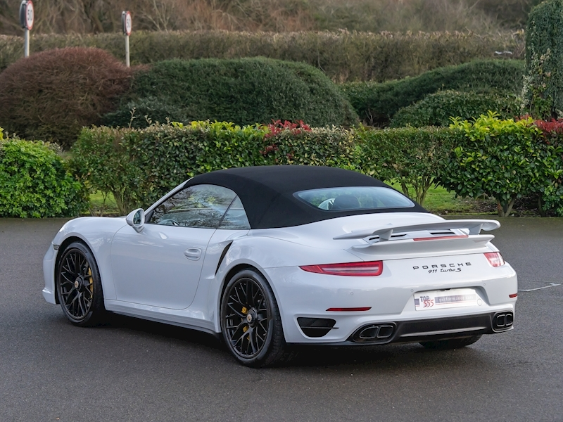 Porsche 911 (991.1) Turbo S 3.8 Convertible PDK - Large 0