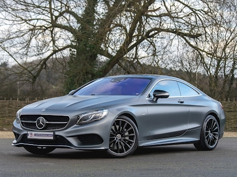 Mercedes-Benz S500 V8 Night Edition Coupe