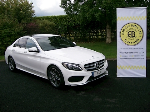 Mercedes C Class C250 Bluetec Amg Line Premium Plus