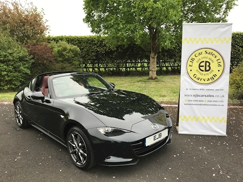 Mazda Mx-5 Rf Sport Nav Convertible 2.0 Manual Petrol