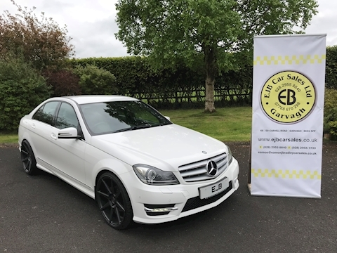 Mercedes C Class C220 Cdi Blueefficiency Amg Sport Plus Saloon 2.1 Automatic Diesel