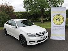Mercedes C Class C220 Cdi Blueefficiency Amg Sport Plus Saloon 2.1 Automatic Diesel - Thumb 0