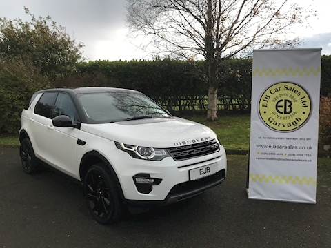 Land Rover Discovery Sport HSE Black 7 Seater