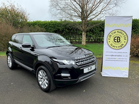 Land Rover Range Rover Evoque Ed4 Pure Tech Glass Roof