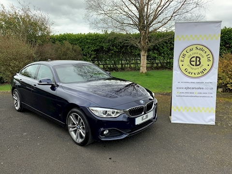 Bmw 4 Series 420D Xdrive Sport Gran Coupe 190 Bhp 5Dr Auto (Prof Media)