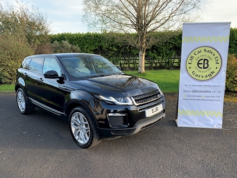 Land Rover Range Rover Evoque Td4 Se Tech 180 BHP 4WD Pan Roof 16 Yr Model