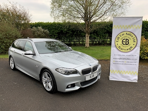 Bmw 5 Series 520D M Sport Touring Business Edition 181 Bhp