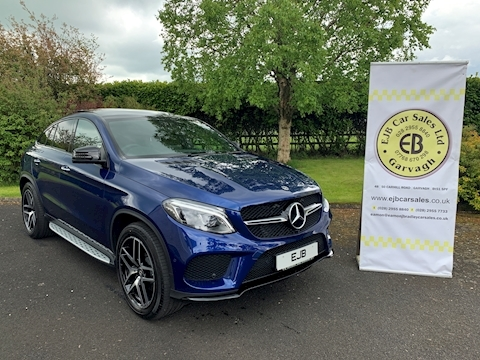 Mercedes-Benz Gle-Class Coupe 350 D 4Matic Amg Night Edition Premi