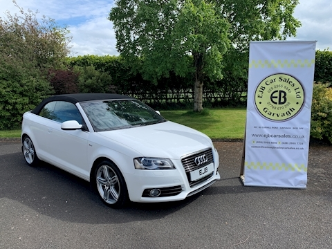 Audi A3 Tdi S Line Final Edition Convertible 2.0 Manual Diesel
