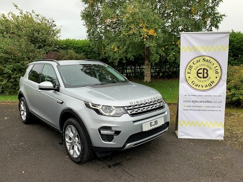 Land Rover Discovery Sport Td4 HSE 180 BHP 7 Seater Auto (Roof Rails)