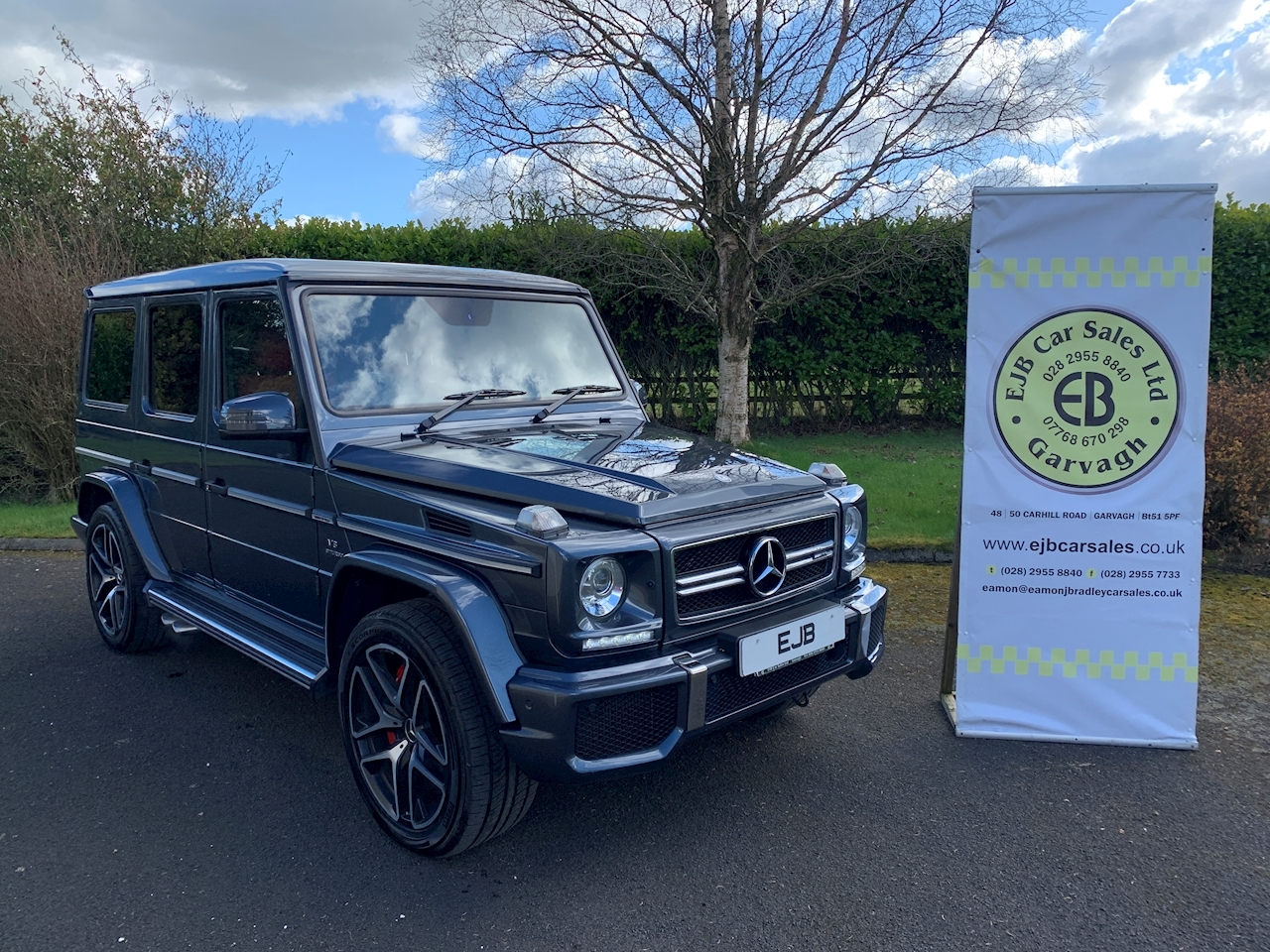 Mercedes-Benz G-Class G63 Amg Estate 5.5 Automatic Petrol