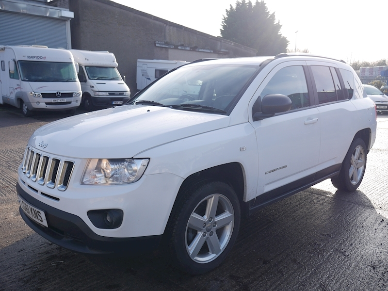 Compass Limited Estate 2.0 Manual Petrol