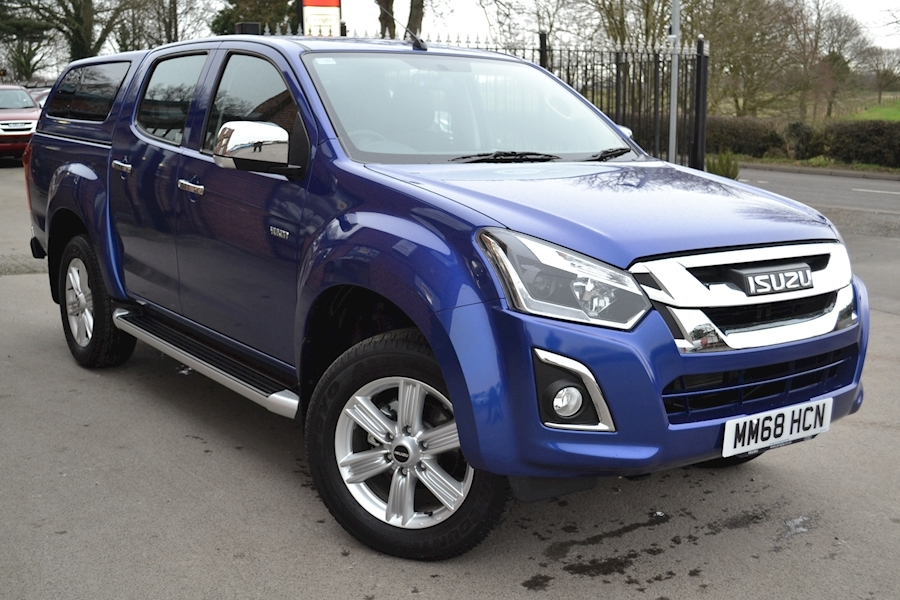 D-Max Yukon Double Cab 4x4 Pick Up with Fitted Glazed Canopy 1.9 4dr Pickup Manual Diesel