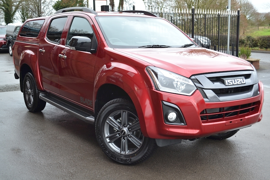 D-Max Blade Double Cab 4x4 Pick Up with Glazed Canopy 1.9 4dr Pickup Manual Diesel