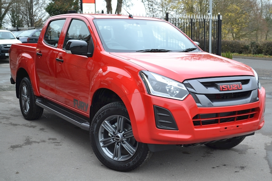 D-Max Fury Double Cab 4x4 Pick Up 1.9 4dr Pickup Manual Diesel