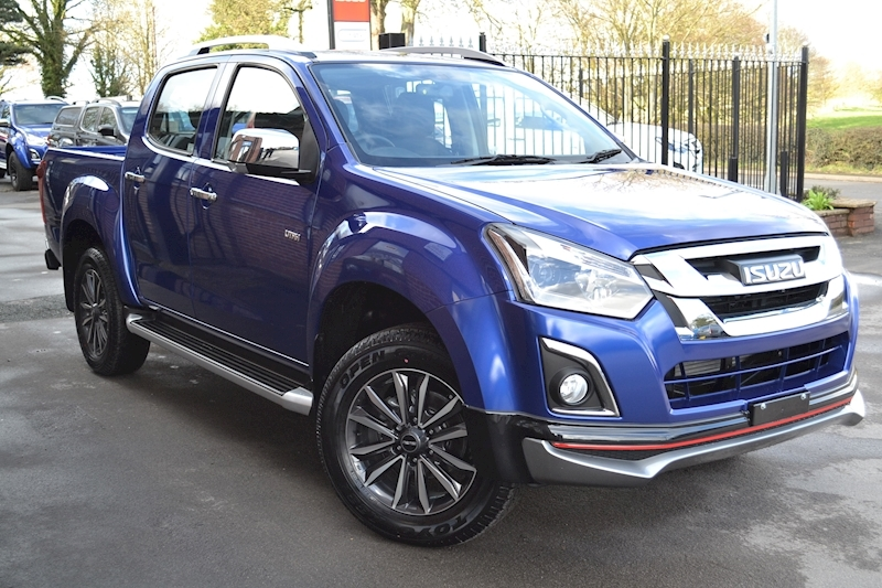 D-Max Utah V-Cross Auto Double Cab 4x4 Pick Up 1.9 4dr Pickup Automatic Diesel